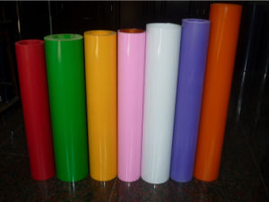 0.5mm Thick Color Printing Rigid Extrusion Cheap Clear PVC Sheet pictures & photos
