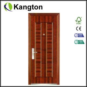 Excellent Quality Exterior Security Steel Door (iron door) pictures & photos