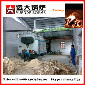 Strong Quality 2t Wood Steam Boiler pictures & photos