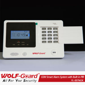 Home /Business Security GSM SMS Alarm Security System with Spanish Voice (YL-007M2K) pictures & photos