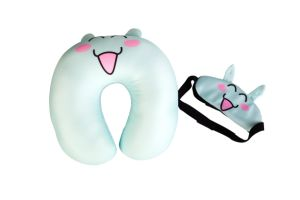 Travel Pillow, Microbeads with Mask, Light Compact Size pictures & photos