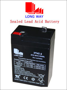6V2.8ah Valve Regulated Rechargeable Lead Acid SLA Battery pictures & photos