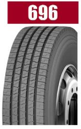 Heavy Load Brand Radial Truck Tyre 696