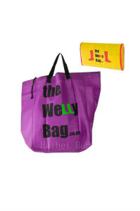 Large Foldable Bag with Drawstring (hbnb-470) pictures & photos