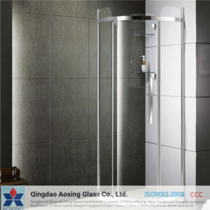Flat Toughened/Tempered Glass for Shower Doors pictures & photos