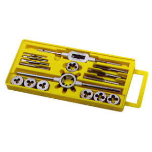 16PCS Metric Tap and Die Set, Alloy Steel