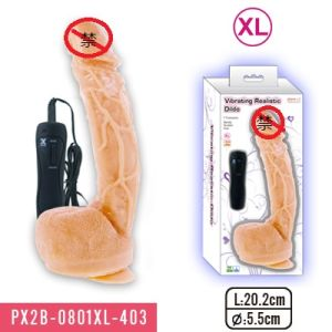 7 Functions Vibrating Realistic Dildo (PX2B-0801XL-403) pictures & photos