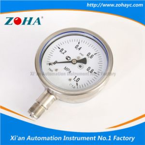 Stainless Steel Pressure Gauges for Russia Market pictures & photos