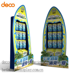 Promotional Advertising Eqipment Cardboard Floor Display Stand pictures & photos