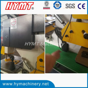 Q35Y-16 hydraulic steel plate round bar angle steel iron worker pictures & photos