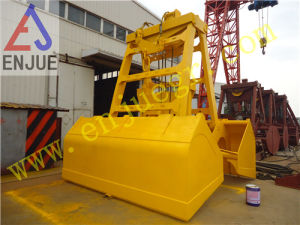Single Line Hydraulic Wireless Radio Remote Control Clamshell Grab Bucket pictures & photos