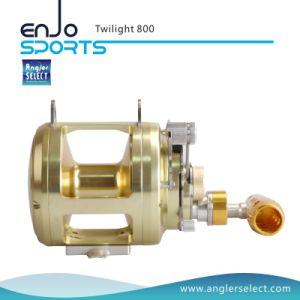 Twilight Sea Fishing Aluminium 8+1 Bearing Sound Alarm Trolling Fishing Tackle Fishing Reel for Marine and Boat (Twilight 800) pictures & photos