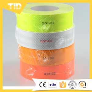 DOT C2 Fluorescent Yellow Trailer Reflective Tape pictures & photos