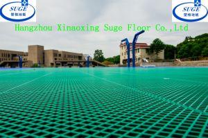 Hunan University Outdoor Basketball Court Sports Flooring pictures & photos