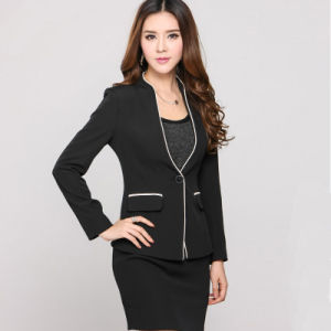 Women Elegant Work Suits Formal Business Suits for Ladies pictures & photos