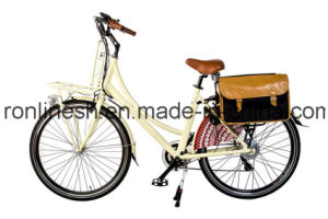 Lady Retro200W/250W/350W Electric Bicycle/Electric Bike/E Bike/E Bicycle/Pedelec 26 or 28in W CE, En15194 pictures & photos