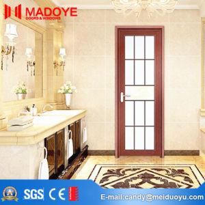 Building Material Interior Metal Bathroom Door with Hollow Glass pictures & photos