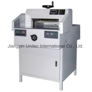 Innovative Products Hydraulic Paper Cutting Guillotine Machine Bw-520A pictures & photos