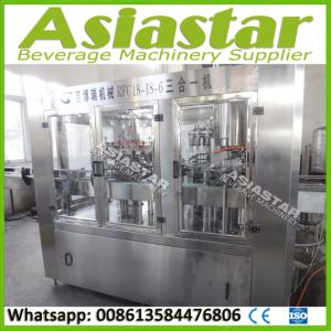 Factory Made Automatic Glass Bottled Fresh Fruit Juice Making Machine pictures & photos
