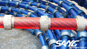 Long Lifespan Diamond Wire Saw for Stone Profiling (SG-061) pictures & photos