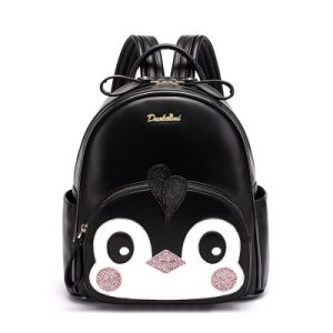Cute Penguin Pocket Zippers Handbags Cartoon Fashion Backpack pictures & photos