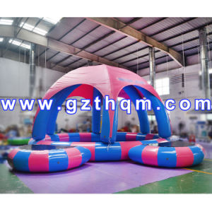 PVC Tarpaulin Children Inflatable Pool/Water Park Popular Equipment Amusement Inflatable Pool pictures & photos