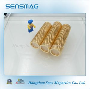 Manufacture Customized Strong Powerful Neodymium Cylinder Magnet for Motor pictures & photos