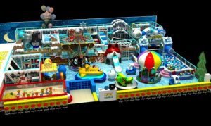 High Quality Large Indoor Kids Playground pictures & photos
