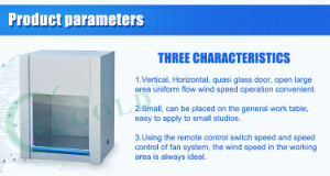 Vertical Air Supply Flow Desktop Laminar Flow Cabinet pictures & photos