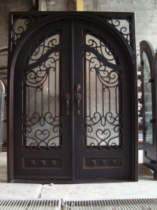 Thermally Broken Wrought Iron Doors pictures & photos