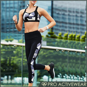 Compression Sport Gym Wear Push up Sport Bra pictures & photos