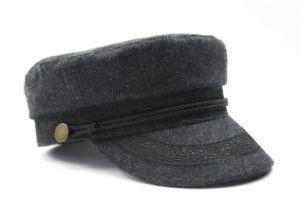 Women′s Captain Flat Top Hat pictures & photos