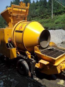 Mobile Concrete Pump Movable Diesel Trailer with Mixer pictures & photos