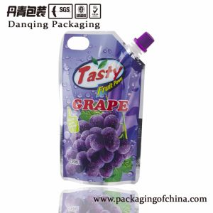Stand up Pouch with Corner Spout Drink Packaging Bag pictures & photos