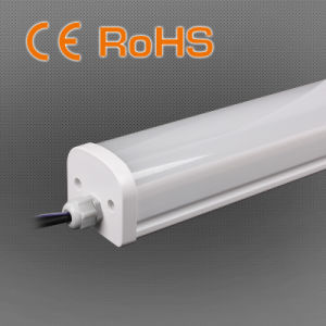 18W 600mm IP65 LED Tri-Proof Light, CRI>80, 4000k, 5 Year Warranty pictures & photos