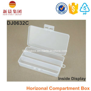 3 Compartment Plastic Clear Storage Box pictures & photos