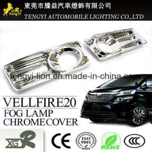 Auto Car Fog Light Chrome Plating Cover for Toyota Alphard 20 pictures & photos