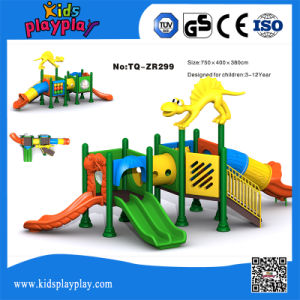 Small Popular Kids Plastic Castle Outdoor Playground pictures & photos