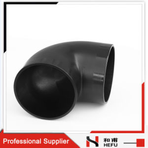 Drainage Standard Radius Weld Plastic Elbow Pipe Fitting pictures & photos