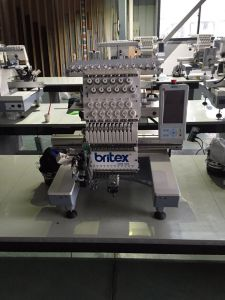 Br-1201 Single Head 12 Needle Embroidery Machine pictures & photos