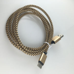 Braided Cable USB3.1 Type C Cable USB Type-C 3.1 Cable pictures & photos