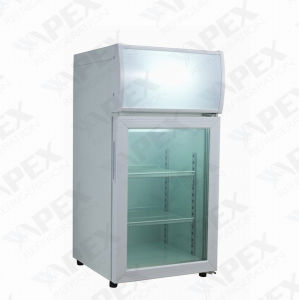 50liter Counter Top Mini Cooler with 2 Shelf for Beer Store in Bar Shop pictures & photos