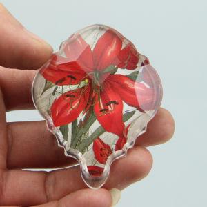 2017 Flower Design Custom Epoxy Fridge Magnet for Sale pictures & photos