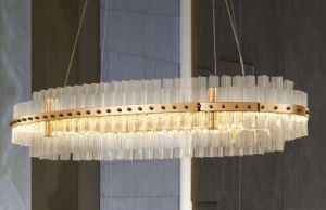 Hotel Project Hanging Crystal Chandelier (KA031718) pictures & photos