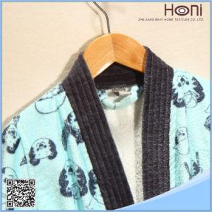 China Supplier 100% Cotton Kids Bathrobe pictures & photos