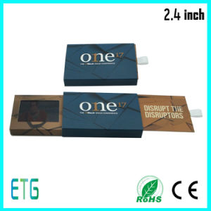 2.4 Inch Samll LCD Greeting Business Card pictures & photos