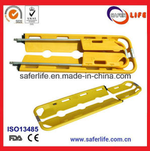 First Aid Devices Emergency Rescue Adjustable Aluminum Alloy Scoop Stretcher pictures & photos