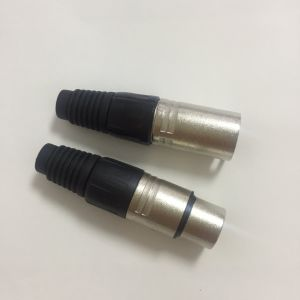 XLR Plug, Male to Female pictures & photos
