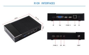 Newest Mini PC with Quad Core AMD Processor (JFTC780NK) pictures & photos