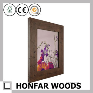 Gold Rustic Wood Picture Frame for Gallery/Hotel Decoration pictures & photos